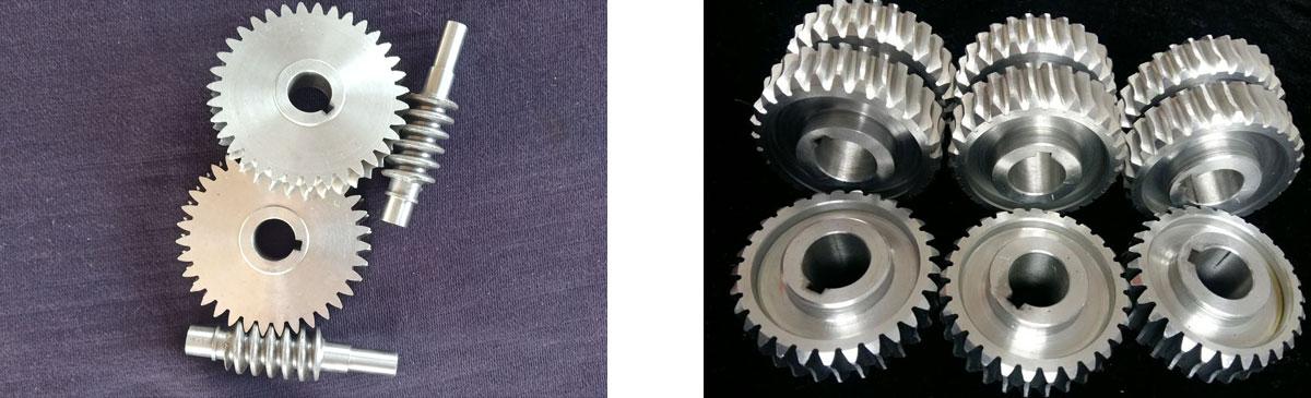 传动部件耐磨蜗轮蜗杆应用