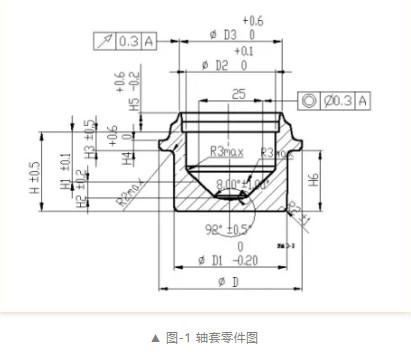 轴套类零件折叠缺陷分析和处理方案